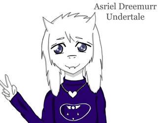 Asriel Dreemurr - Undertale by AnimeLova312