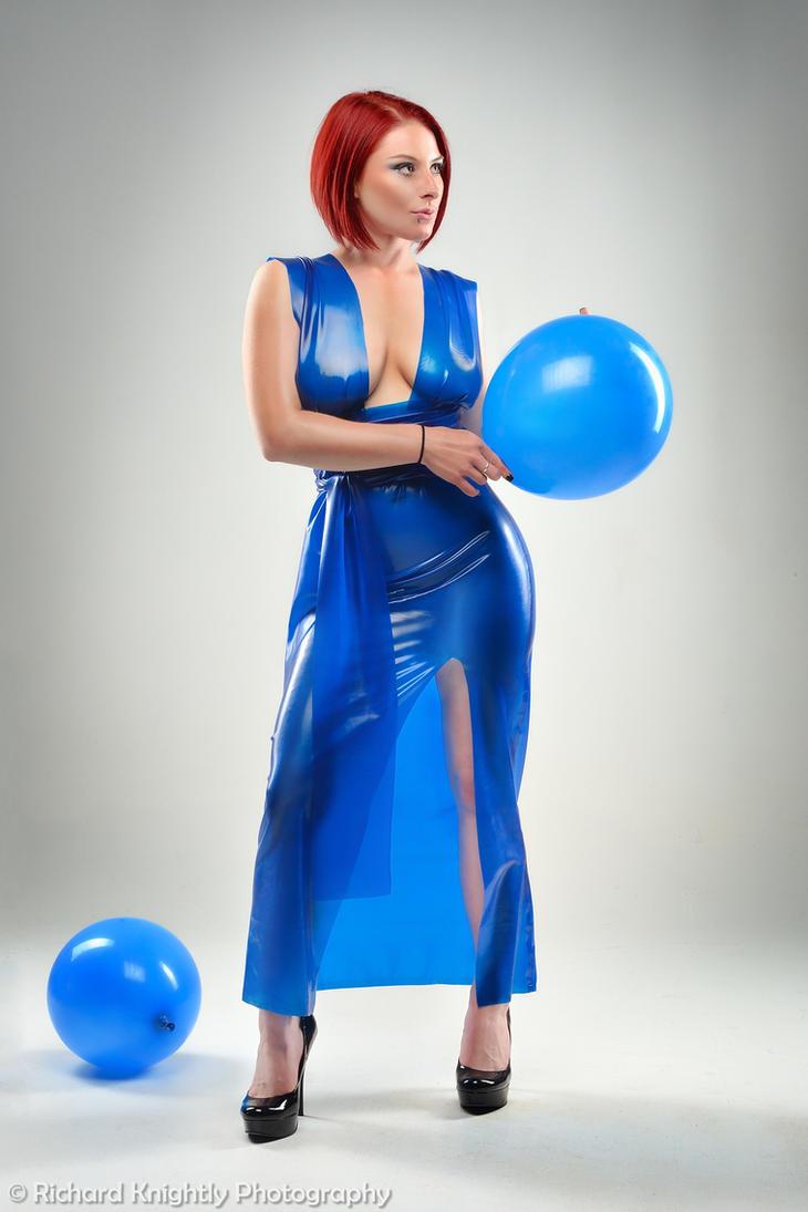 Surlie in Blue by RichardKnightly