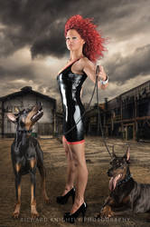 Marcella with Doggies!