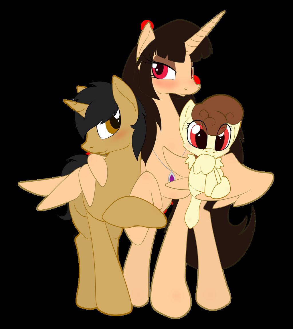 Family Portrait by Mini-Feru