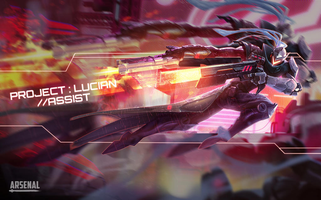 League of Legends | Project Lucian | Wallpaper by ...