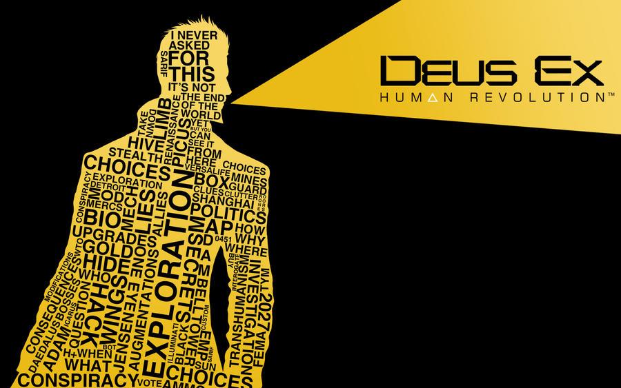 Deus Ex Human Revolution Wallpaper By Franz888