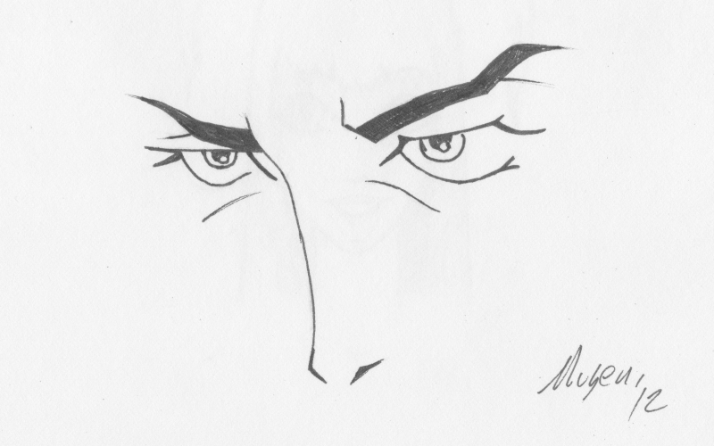 Mugen's Eyes by Mugey