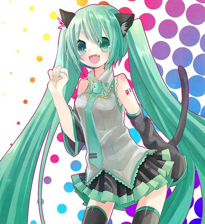 hatsune miku cat by xDDDKamedaXDDD on DeviantArt