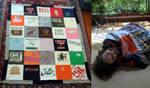 T-Shirt Quilt by MadeleiZoo