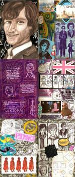 Senioritis: Sherlock Spreads by MadeleiZoo