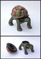 World Tortoise Keepsake Box by MadeleiZoo