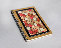 Wood Grain Guitar Pick Journal by MadeleiZoo
