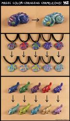 Magic Color-Changing Chameleons! + VIDEO