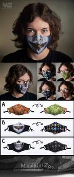Original MadeleiZoo Printed Face Masks!!