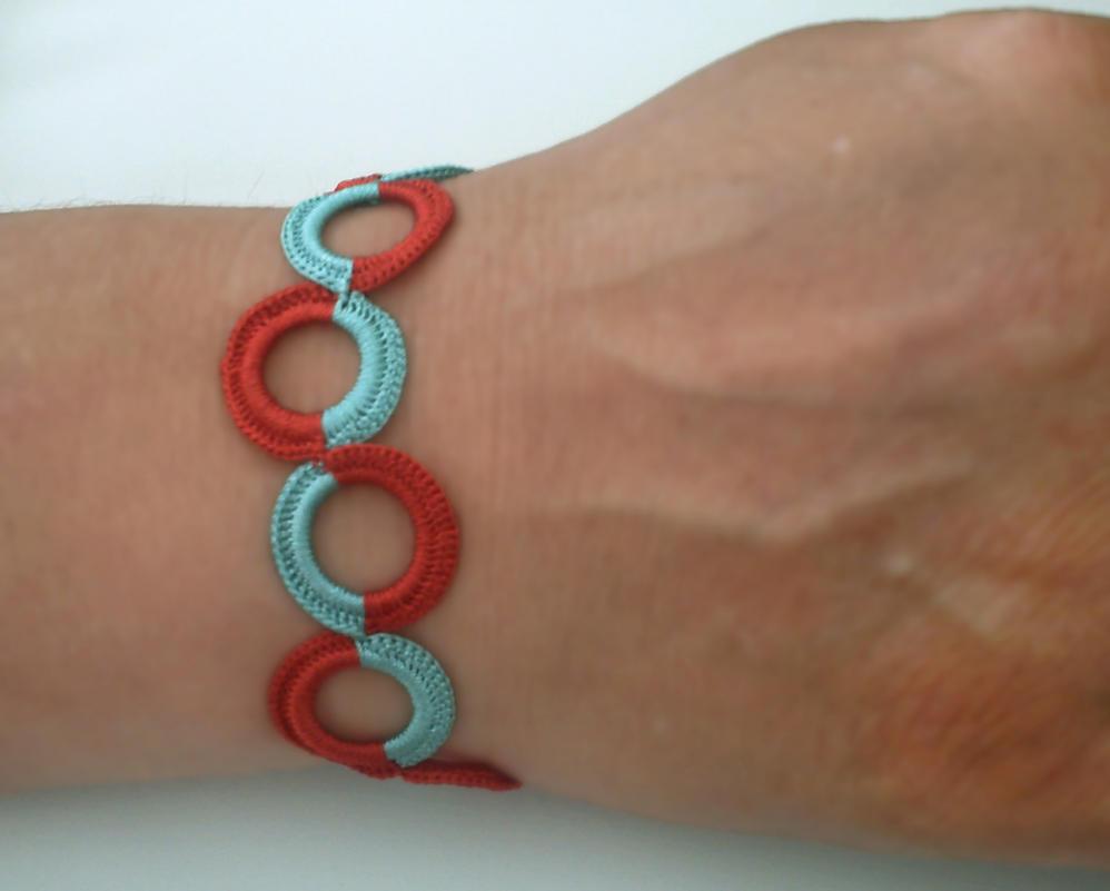 Crocheting Circles : crochet circle bracelet by lagrimadejarjayes on DeviantArt