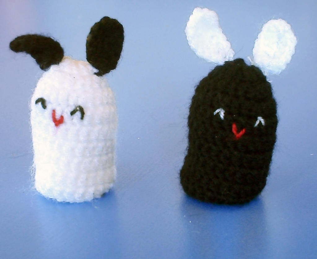 Amigurumi Cute Rabbit : Amigurumi cute bunnies by lagrimadejarjayes on DeviantArt