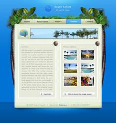 Tropical Beach Resort by krazytim