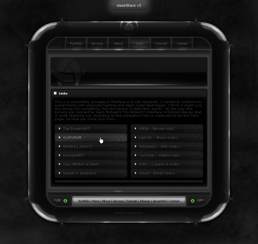sleekBlack v3 by krazytim