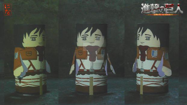 Mikasa Ackerman finger puppet
