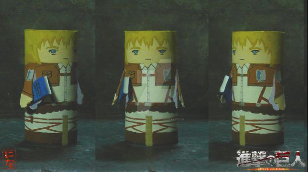 Armin Arlert finger puppet