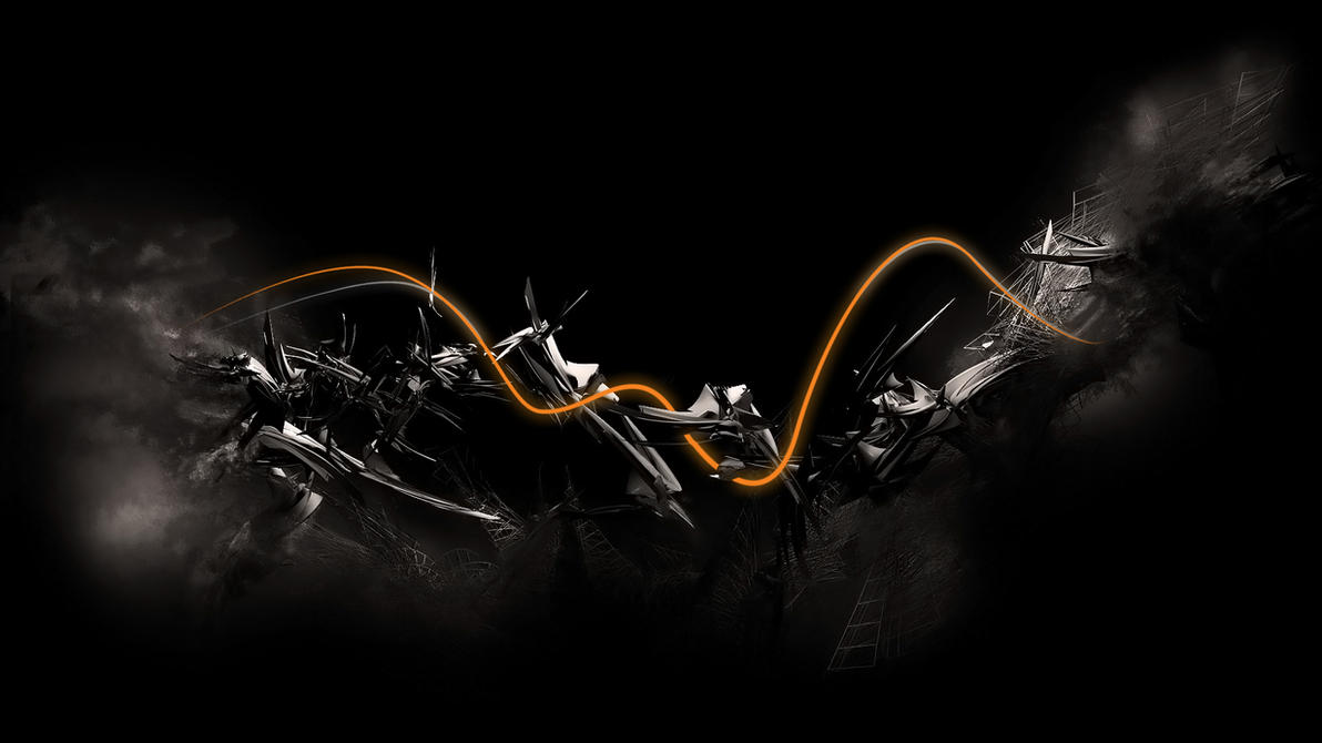 Abstract c4d wallpaper by Lupo7