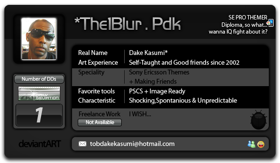 The1Blur's Profile Picture