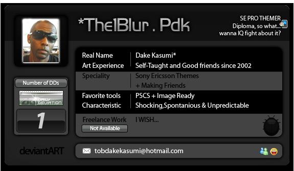 The1Blur's Profile Picture