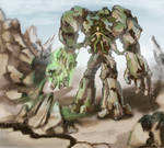 Stone golem Earth Colossus