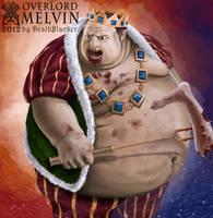 Melvin FanArt OverLord by DeathBlacker