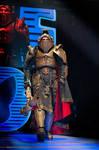 Warhammer 40000 Inquisitor cosplay at STARCON2015