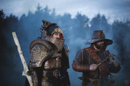Warhammer 40000 Inquisitor Duo cosplay