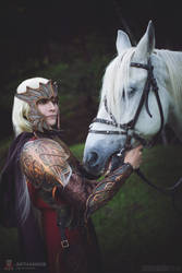 Fantasy original Elf cosplay