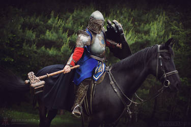 Fantasy Warrior cosplay / LARP costume