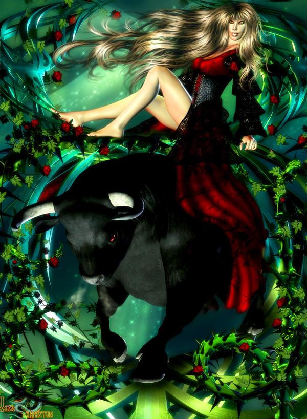 Dark Zodiac - Taurus by IgnisSerpentus on DeviantArt