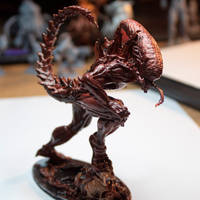 Alien-Licker 3D print painted