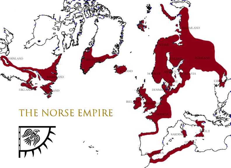 What Could Have Been: the Norse Empire by schooldoorholder