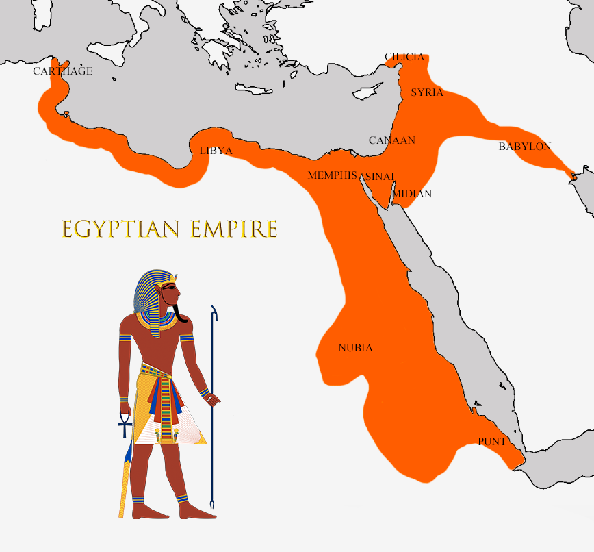 What Could Have Been: the Egyptian Empire by schooldoorholder