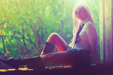 Pretty schoolgirl by HKangae