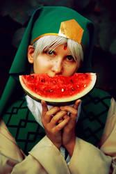 Jafar and watermelon by HKangae