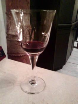 My wine in silence