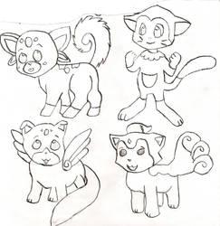 cute little fuzzies by Tazz-spazz