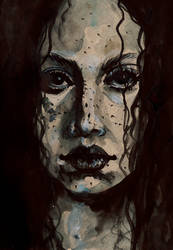 Portrait 3 by TinaFuresz