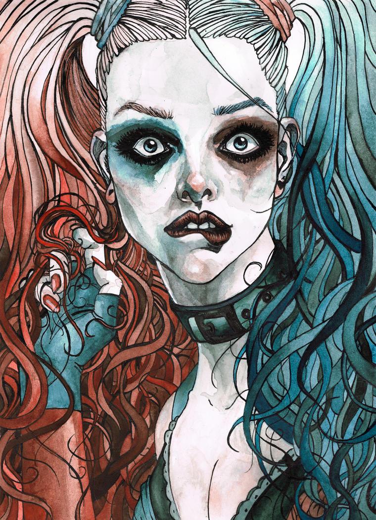 Harley Quinn by TinaFuresz