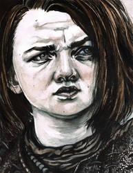 Arya Stark by TinaFuresz