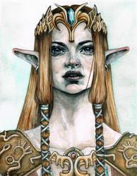 Princess Zelda by TinaFuresz