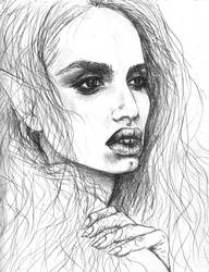 Marcy Sketch by TinaFuresz