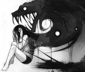 Fear by akirakirai