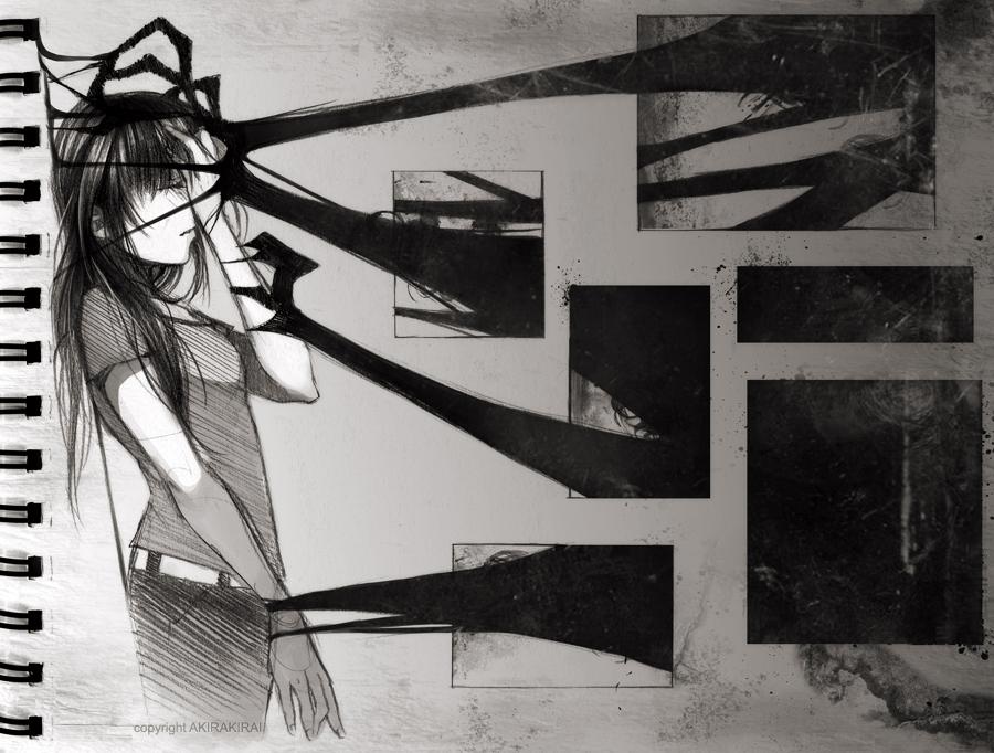 Stress by akirakirai