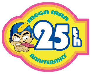 HAPPY ANNIVERSARY MEGA MAN by dokugami