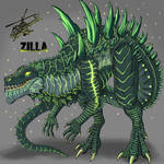 Burning Zilla
