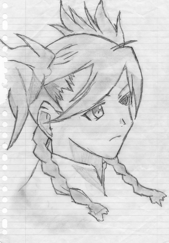 manga girl from my-hime by orgxiiifreak