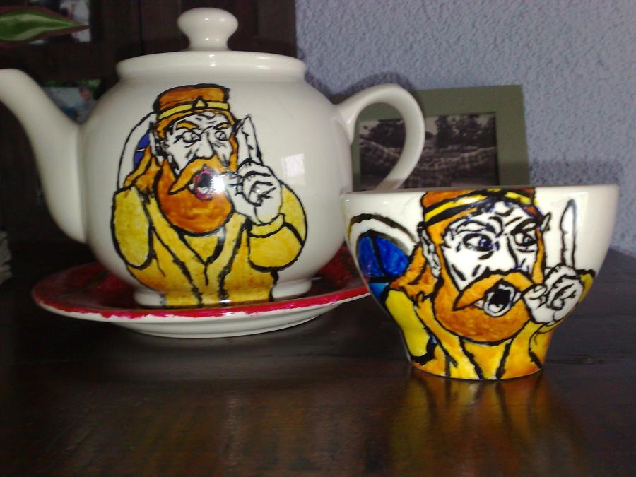 the king ceramics by orgxiiifreak