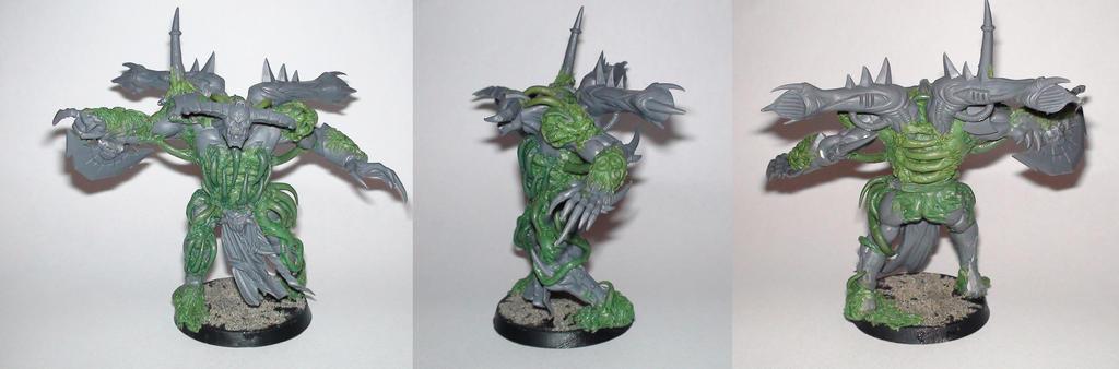 nurgle daemon prince converted by orgxiiifreak
