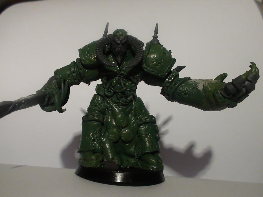 daemon prince of nurgle-W.I.P- by orgxiiifreak